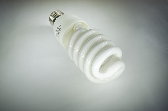 kroucená zářivka
