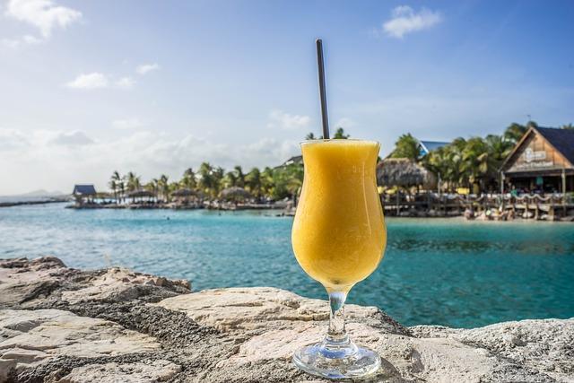tropický drink