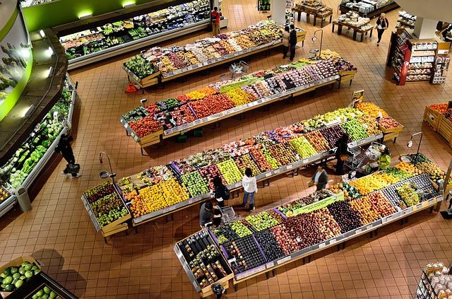 oddělení potravin