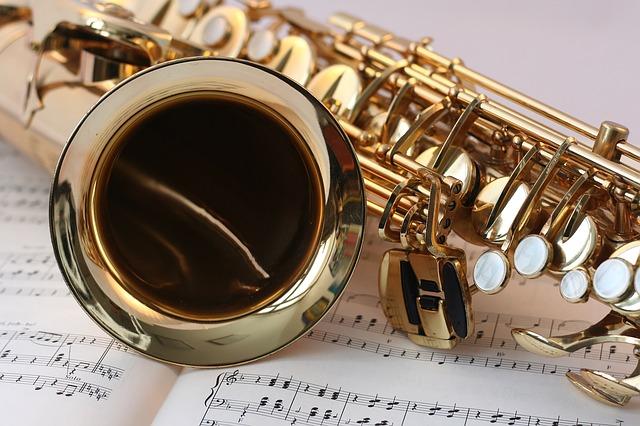 noty a saxofon