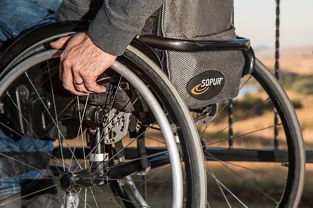 Osoba na vozíku