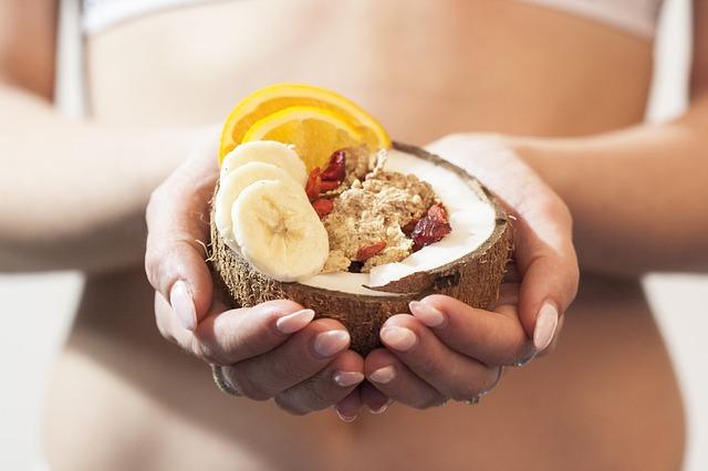 kokosová miska