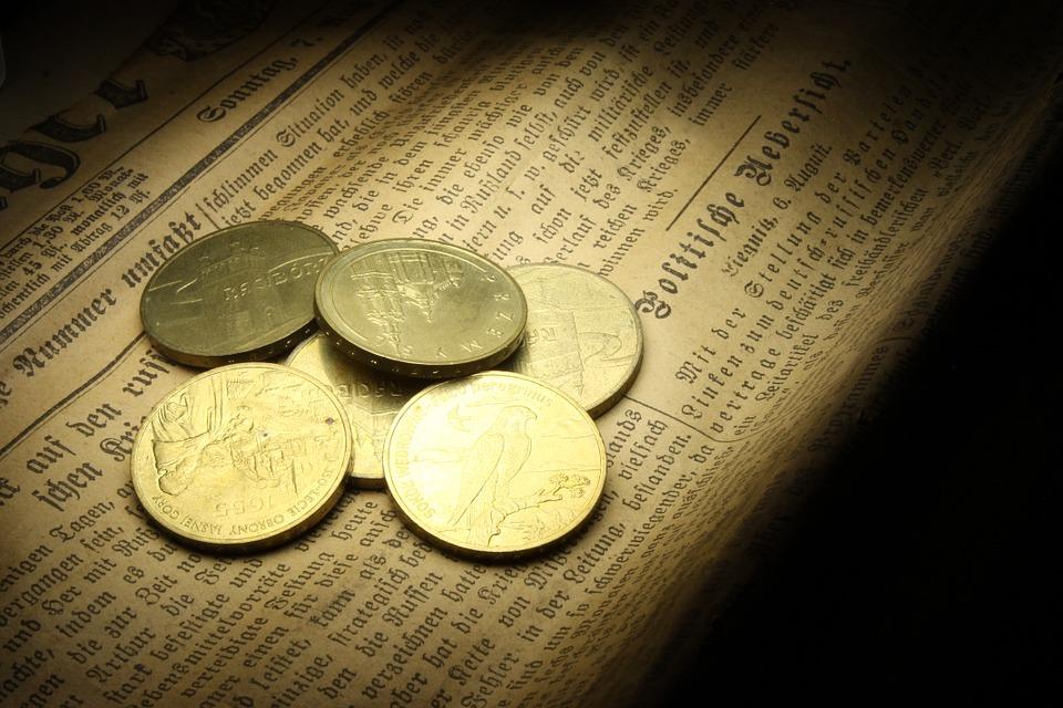 mince ze zlata